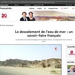 Le dessalement de l'eau de mer : un savoir-faire français