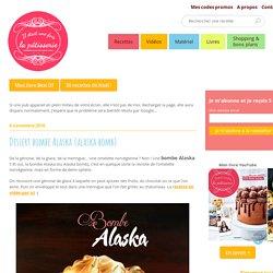 Dessert bombe Alaska {alaska bomb} : Il était une fois la pâtisserie