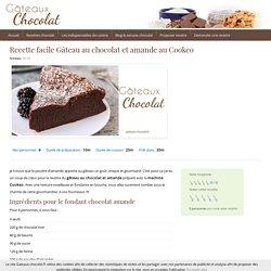 Dessert au Cooeko : recette du gâteau au chocolat et amande