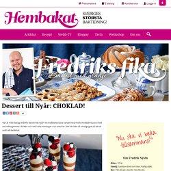 Dessert till Nyår: CHOKLAD!