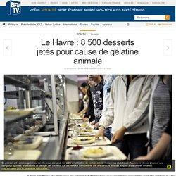 Le Havre : 8 500 desserts jetés pour cause de gélatine animale