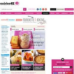 desserts-light : Les recettes minceur et régime de Cuisine AZ