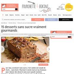 15 desserts sans sucre vraiment gourmands