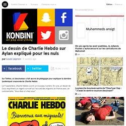 Le dessin de Charlie Hebdo sur Aylan expliqué pour les nuls