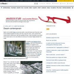 Dessin contemporain – Amateur d'art