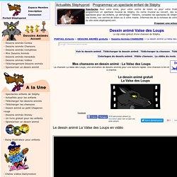 Dessin animé La Valse des Loups. Un clip vidéo de dessins animés pour les enfants.