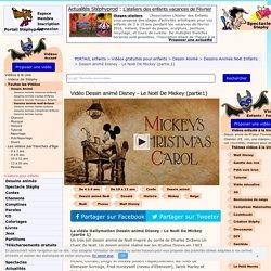 Vidéo du dessin animé de Noël pour enfants, Dessin animé Disney - Le Noël De Mickey. Un très joli dessin animé...