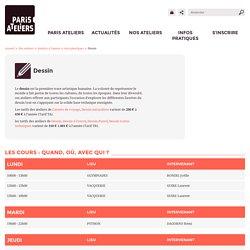 Dessin - Arts plastiques - Ateliers à l'année - Paris Ateliers
