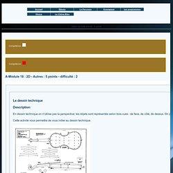 Le dessin technique 1 (blender et autres)