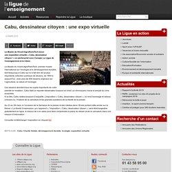 Cabu, dessinateur citoyen : une expo virtuelle