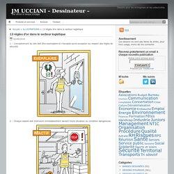 JM UCCIANI – Dessinateur –13 règles d'or dans le secteur logistique - illustrations