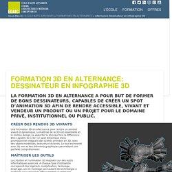 formation 3D en alternance : Dessinateur en infographie 3D