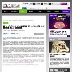 BD : décès du dessinateur et scénariste Jean Giraud, alias Moebius