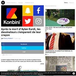 Après la mort d'Aylan Kurdi, les dessinateurs s'emparent de leur crayon