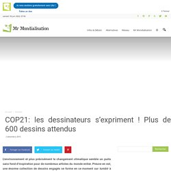 COP21: les dessinateurs s'expriment ! Plus de 600 dessins attendus
