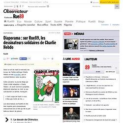 Diaporama: sur Rue89, les dessinateurs solidaires de Charlie Hebdo