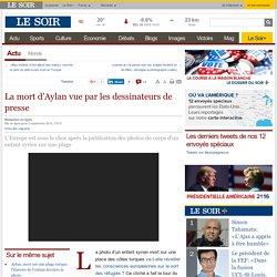La mort d'Aylan vue par les dessinateurs de presse
