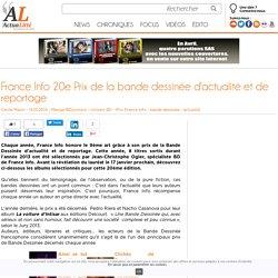 France Info 20e Prix de la bande dessinée d'actualité et de reportage