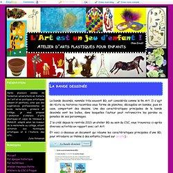 La bande dessinée - Atelier d'arts plastiques pour enfants