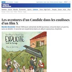 Bande dessinée: Les aventures d'un Candide dans les coulisses d'un film X - Culture