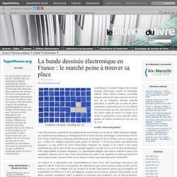La bande dessinée électronique en France: le marché peine à trouver sa place