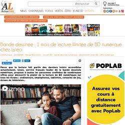 Bande dessinée : 1 mois de lecture illimitée de BD numérique chez izneo