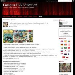 La bande dessinée en classe des langues - FLE