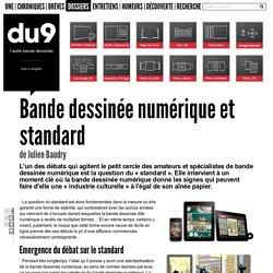 Bande dessinée numérique et standard