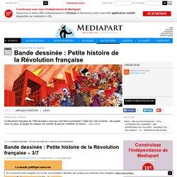 Bande dessinée : Petite histoire de la Révolution française