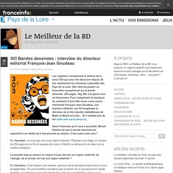 303 Bandes Dessinées : Interview Du Directeur éditorial François-Jean Goudeau