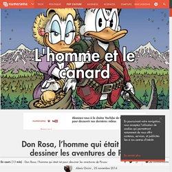Don Rosa, l'homme qui était né pour dessiner les aventures de Picsou - Pop culture