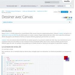 Dessiner avec Canvas - Guides pour développeurs Web