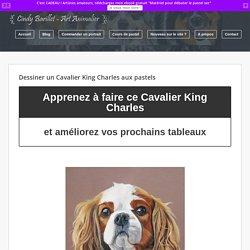 Dessiner un Cavalier King Charles aux pastels