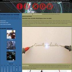 Dessiner des circuits électriques avec un stylo