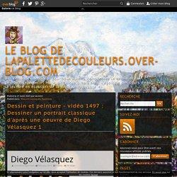 vidéo 1497 : Dessiner un portrait classique d'après une oeuvre de Diego Vélasquez 1