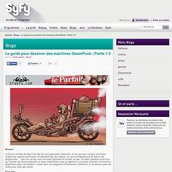 Le guide pour dessiner des machines SteamPunk