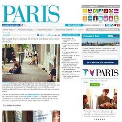 Dessiner Paris, depuis le trottoir ou dans une rame de métro