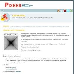 Dessiner avec Processing — Pixees