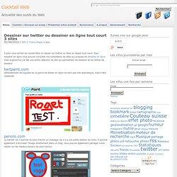 Dessiner sur twitter ou dessiner en ligne tout court 3 sites