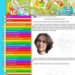 Dessiner un portrait au crayon