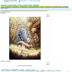 Les dessins d'Alice au Pays des Merveilles