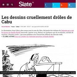 Les dessins cruellement drôles de Cabu
