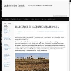 LES DESSOUS DE L'AGROBUSINESS FRANÇAIS