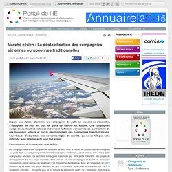 Marché aérien : La déstabilisation des compagnies aériennes européennes traditionnelles