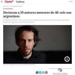 Destacan a 39 autores menores de 40: seis son argentinos