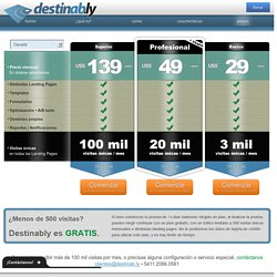 Crea y optimiza tus Landing Pages
