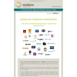 MIDEM - The destination for music business connections and knowledge