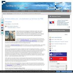 Emirats arabes unis une destination qui fait rêver les PME françaises - Business France - France