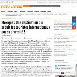 Mexique : Une destination qui séduit les touristes internationaux par sa diversité !