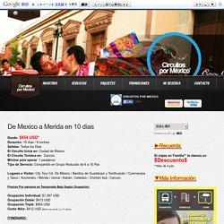 Circuitos por México – Destination Management Company